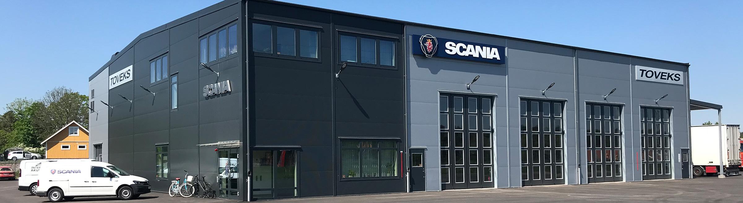 Scania Toveks Lastbilar Åmål