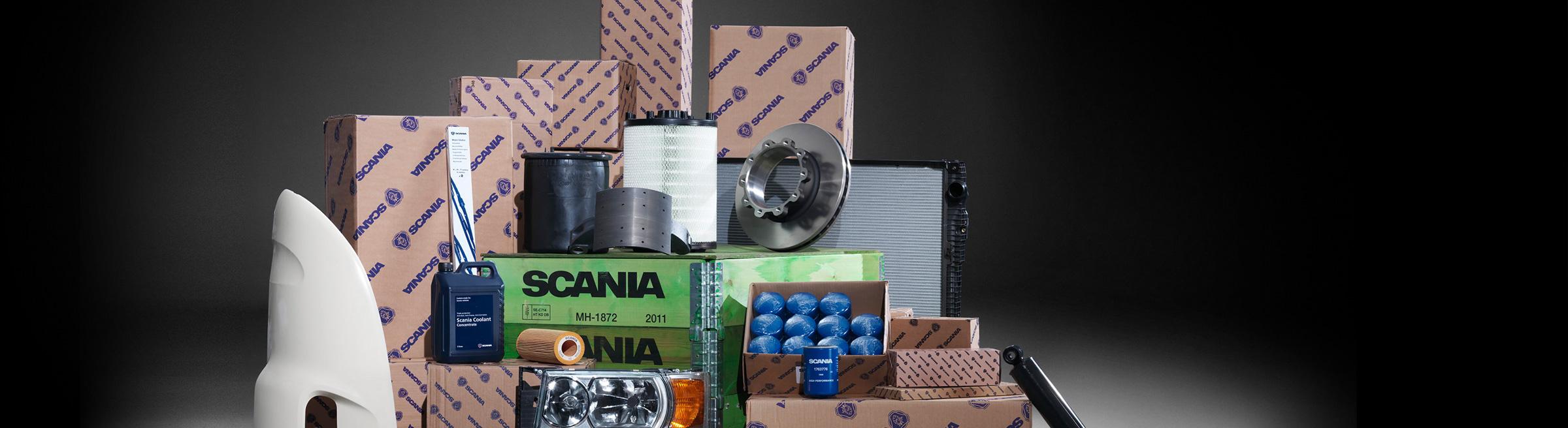 Reservdelar & Tillbehör Scania