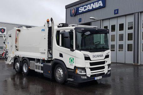 Nyleverans Scania P320 Avfallshantering Östra Skaraborg