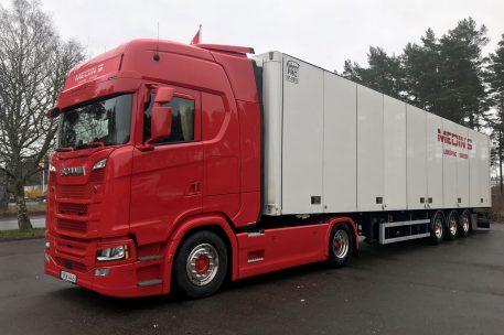 Nyleverans Scania S500