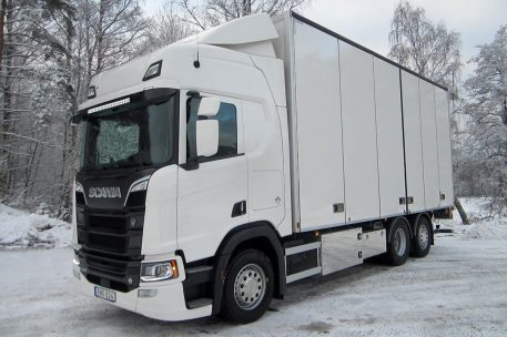Nyleverans Scania R520 hos Toveks Lastbilar