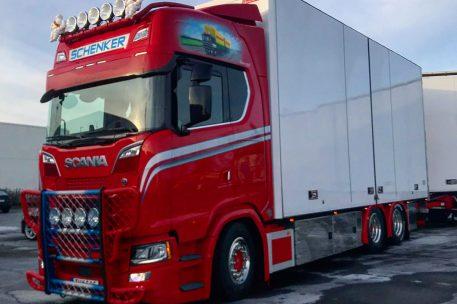 Nyleverans av Scania S730