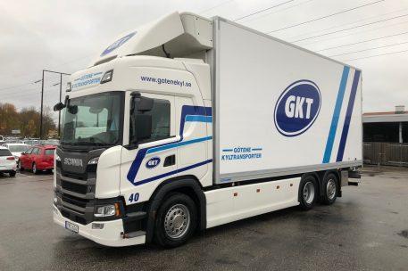 Nyleverans av Scania G500 av Toveks Lastbilar Lidköping.
