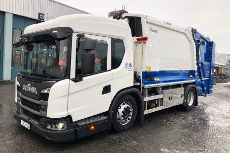 Lidköpings Kommun har tagit ut en ny Scania L320 - Toveks Lastbilar Lidköping