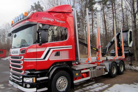 Leverans Scania R580 Toveks Lastbilar