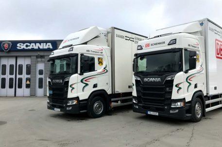 Leverans Scania R520 i Lidköping