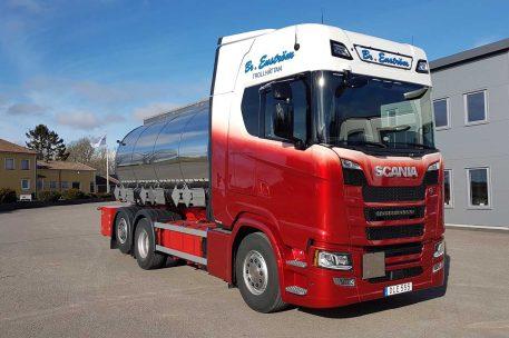Nyleverans Scania S500 till BR Enström Transport