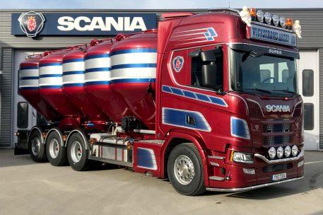 Leverans Wickströms Åkeri Scania R580