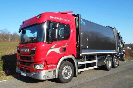 Nyleverans Scania P320