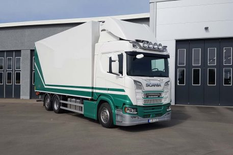 Nyleverans Scania R520