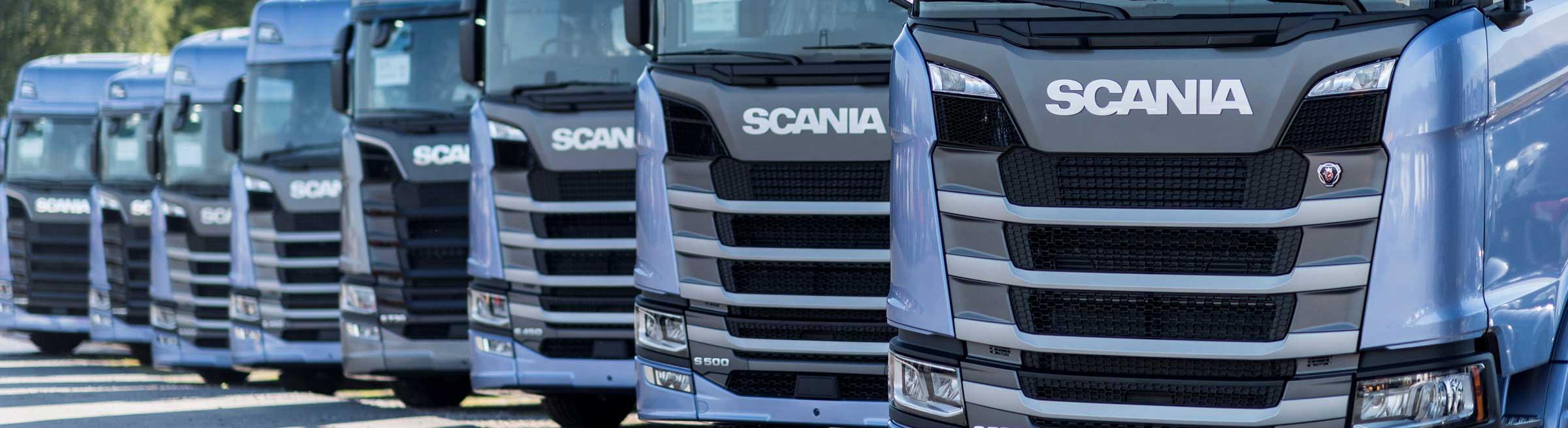 Nyleveranser Scania hos Toveks Lastbilar