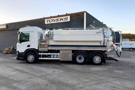 Nylevereans Scania P450