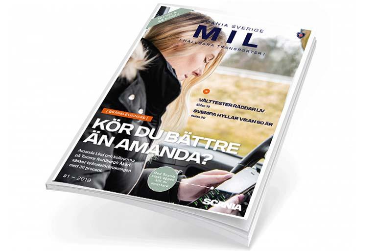 Läs första numret av Scania Mil 2019