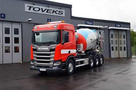 Nyleverans Scania R410