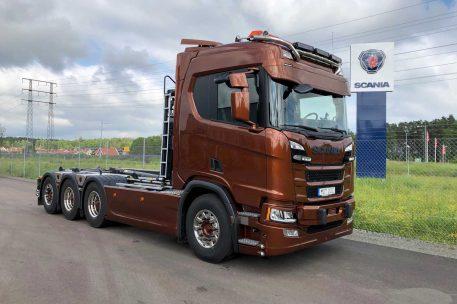 Nyleverans Scania R500