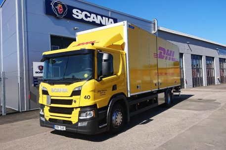 Nyleverans Scania