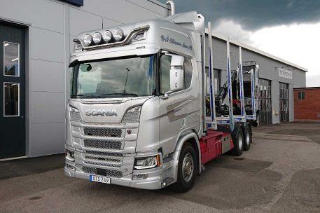 Leverans Scania R650