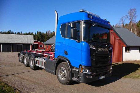 Nyleverans Scania R580