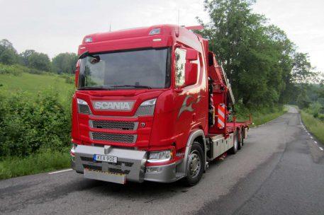 Nyleverans Scania R450