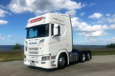Leverans Scania