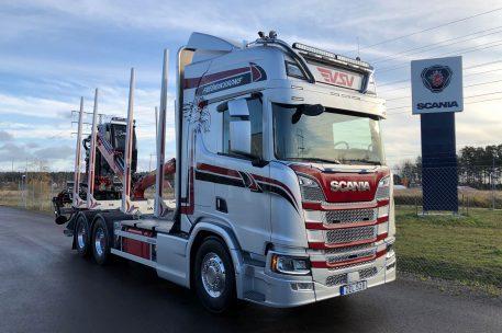 Nyleverans Scania R650