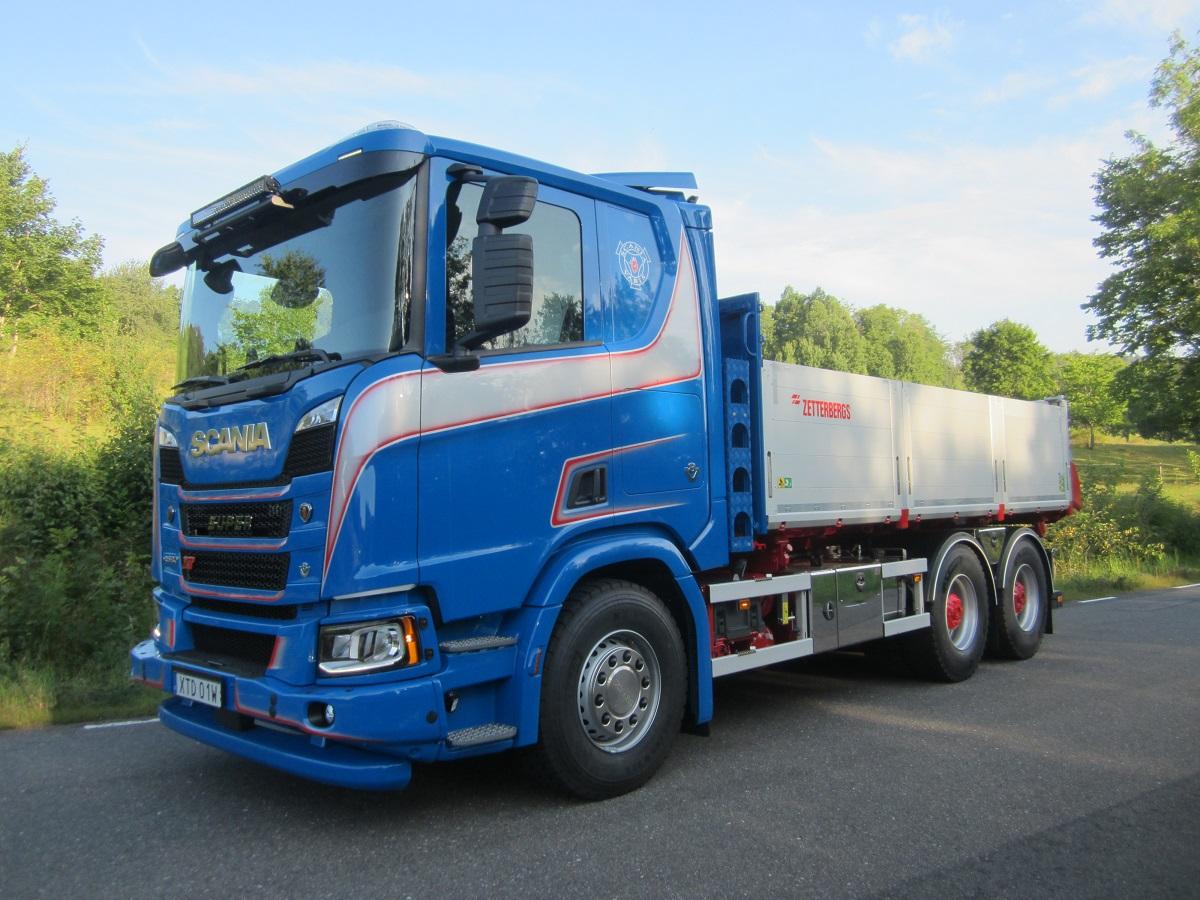 Scania R580 B6x4NB