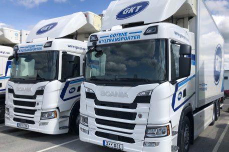 Scania G450 till Götene Kyltransporter