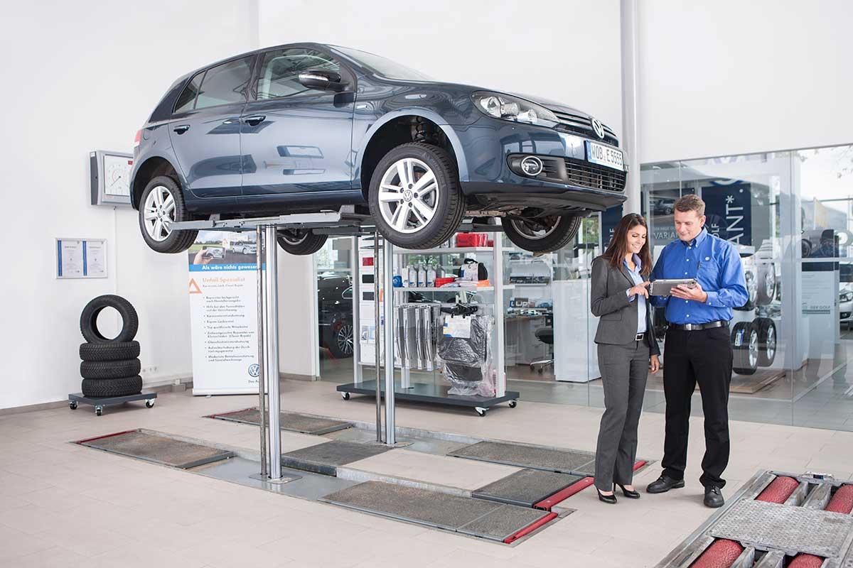 Service på Volkswagen, Audi, Seat och Skoda