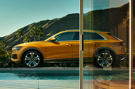 Nya Audi Q8
