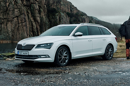 ŠKODA Superb Combi Style Adventure Edition