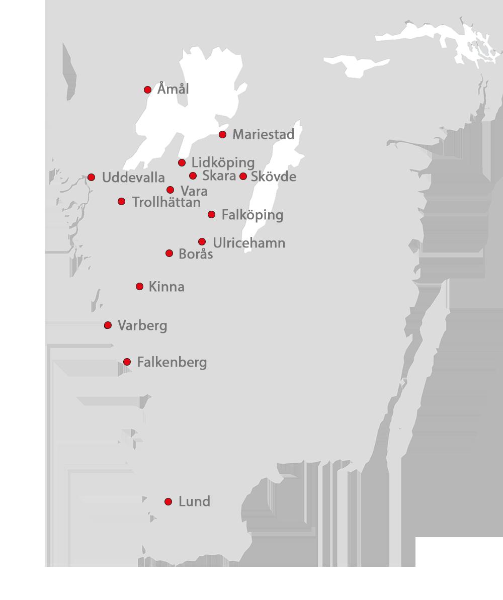 Karta Toveksbil