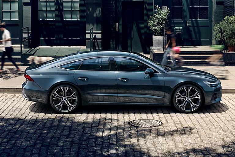 Världspremiär för nya Audi A7 Sportback