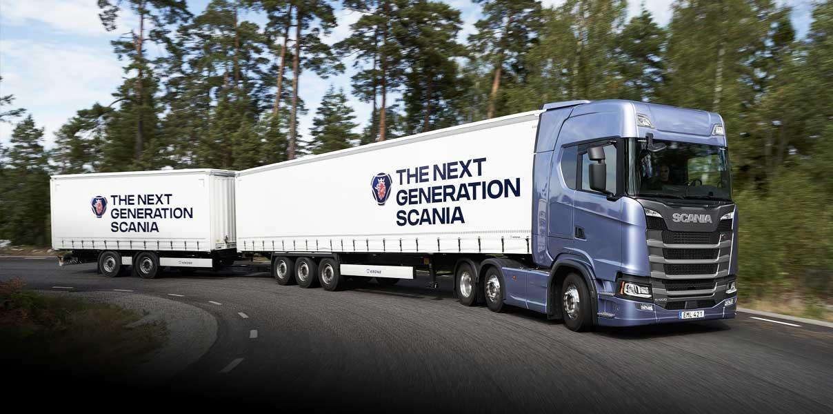 Besök lastbilar