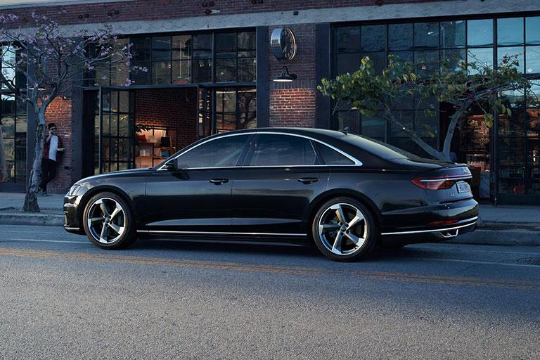 Försäljningsstart för nya Audi A8.