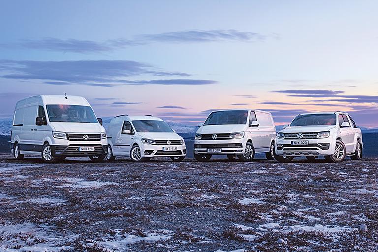 Aktuella kampanjer på Volkswagen Transportbilar