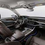 Nya Audi A6 Sedan - interiör framsäte