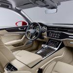 Nya Audi A6 Sedan - interiör baksäte