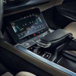 Växelpaddel + interiör Audi e-tron