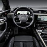 Audi e-tron interiör förarsäte
