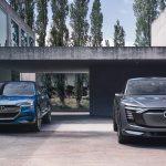 Audi e-tron quattro & audi e-tron sportback koncept