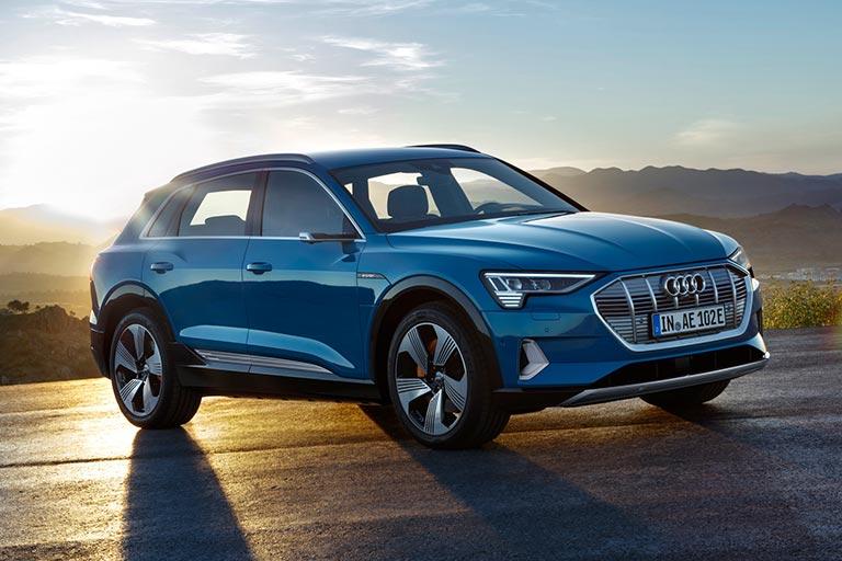 Världspremiär för helt eldrivna Audi e-tron