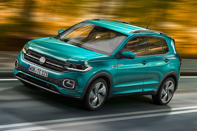 Världspremiär för nya Volkswagen T-Cross