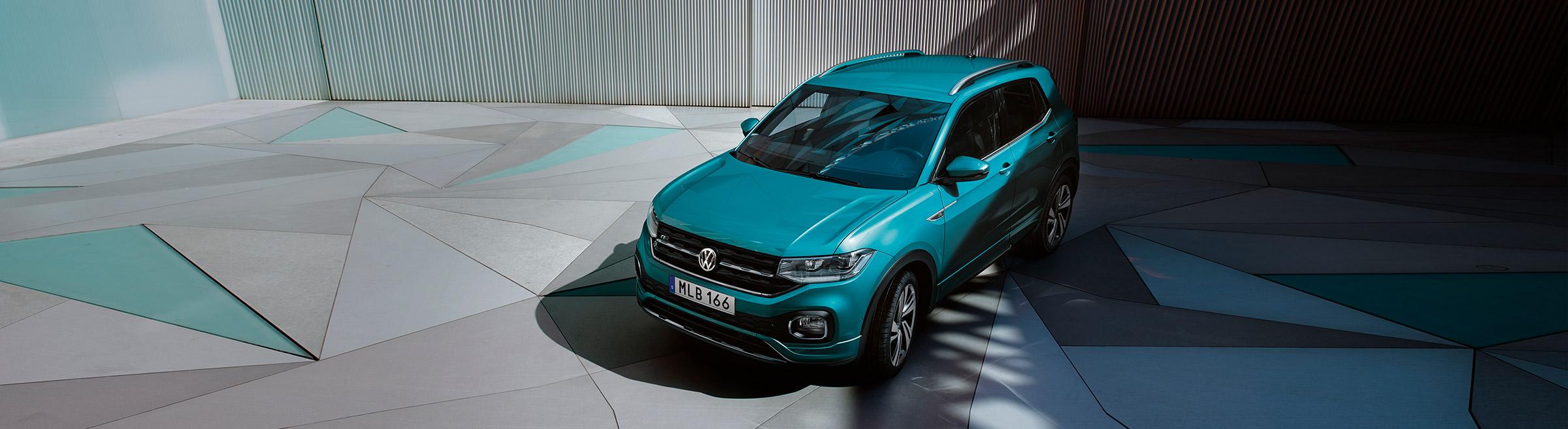 Nya Volkswagen T-Cross beställningsbar