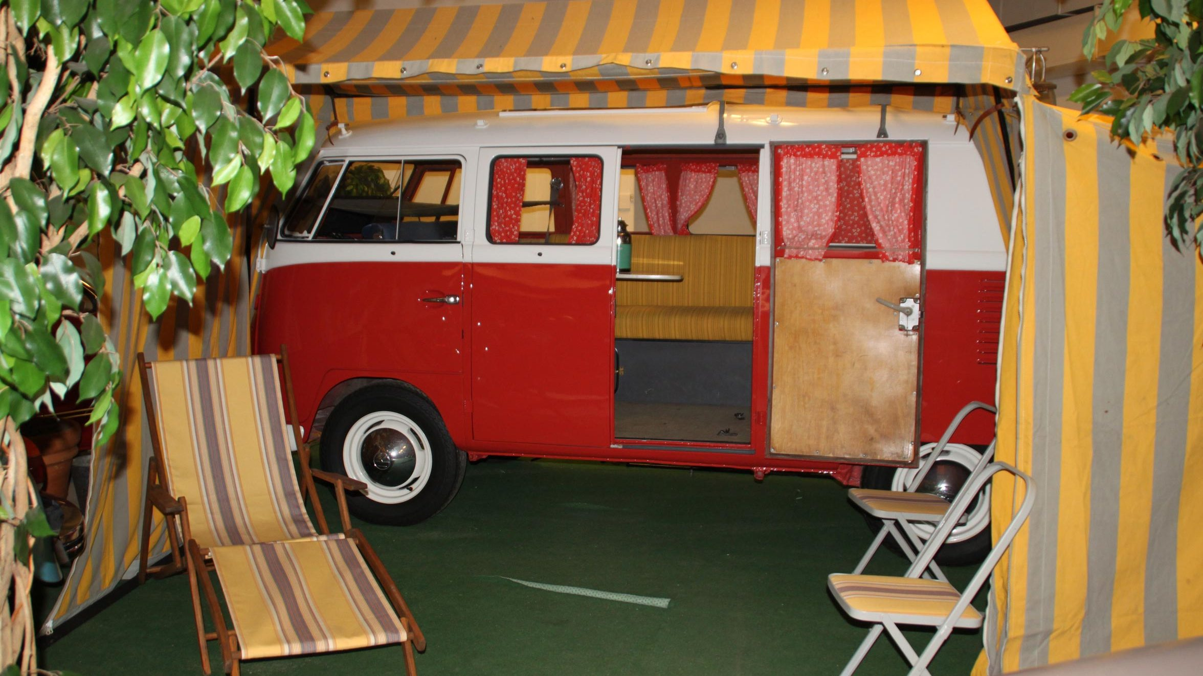 Campingutrustad VW Transporter 1961