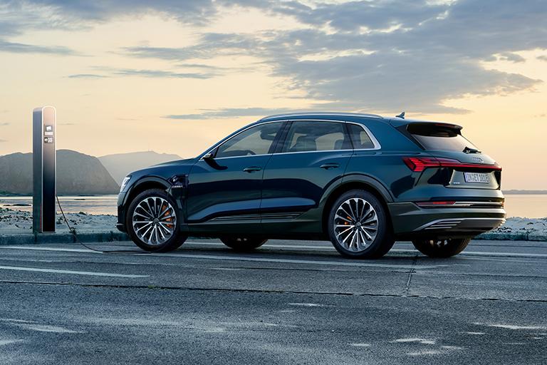 Förhandsvisning Audi E-tron i Borås
