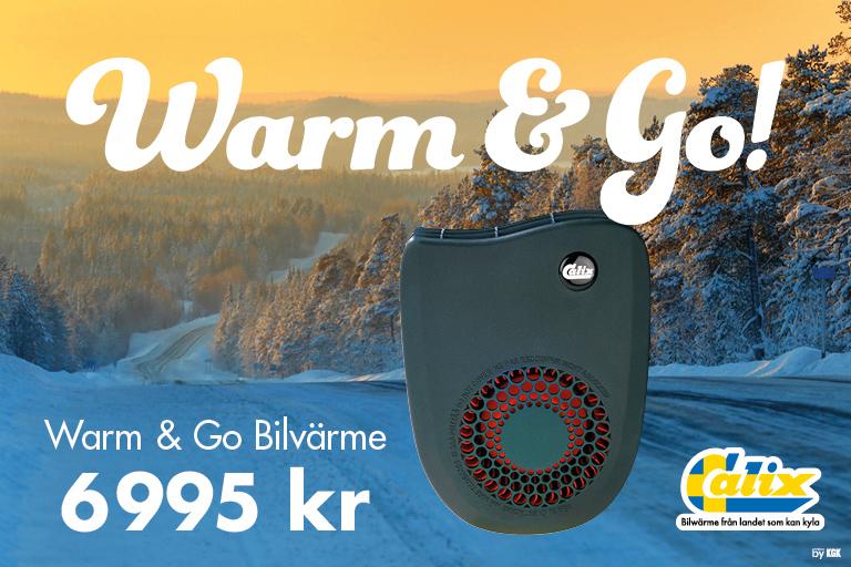 Warm & Go Bilvärme från Calix – 6995 kr