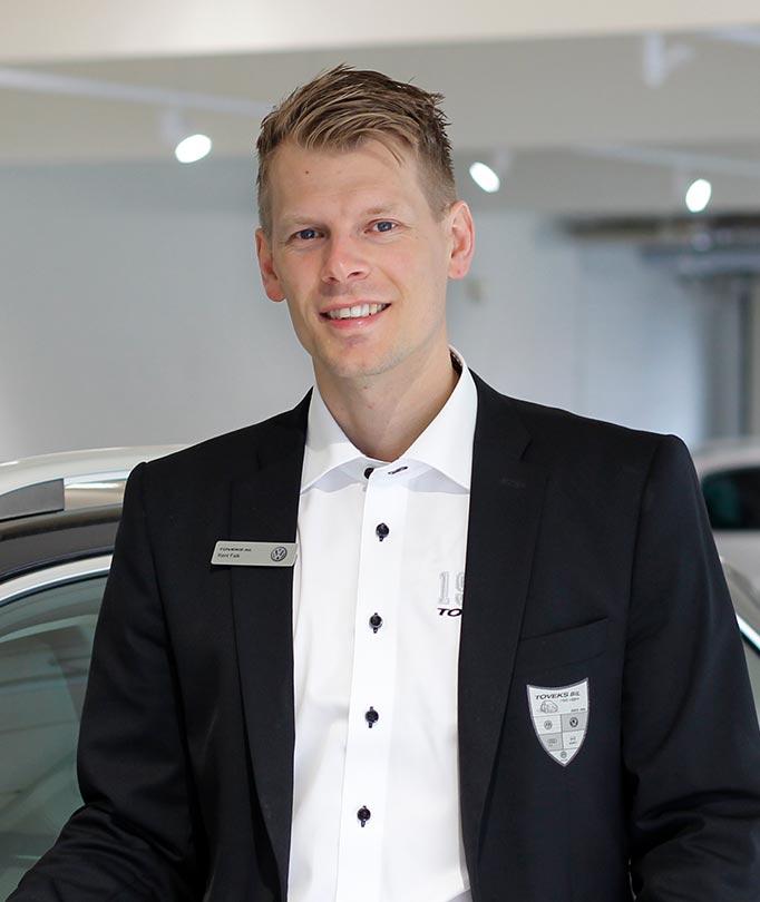 Arbeta som bilförsäljare på Toveks Bil