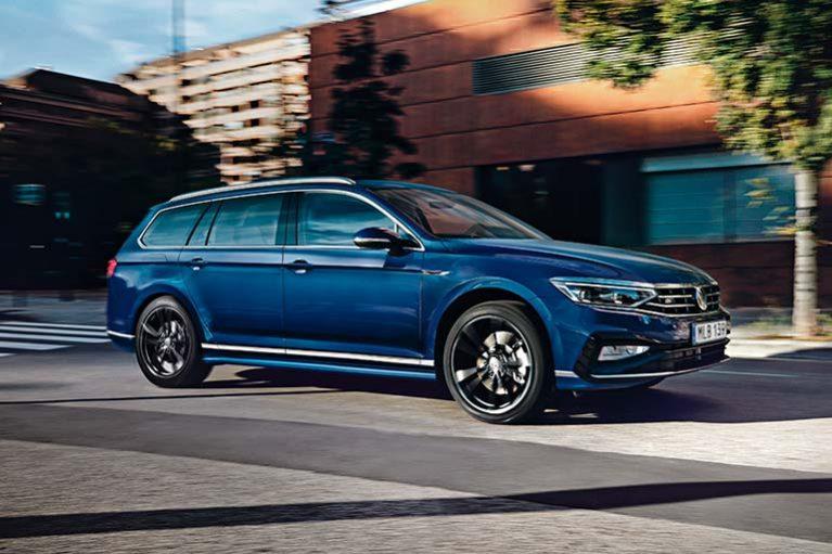 Förhandsvisning nya Volkswagen Passat hos Toveks Bil