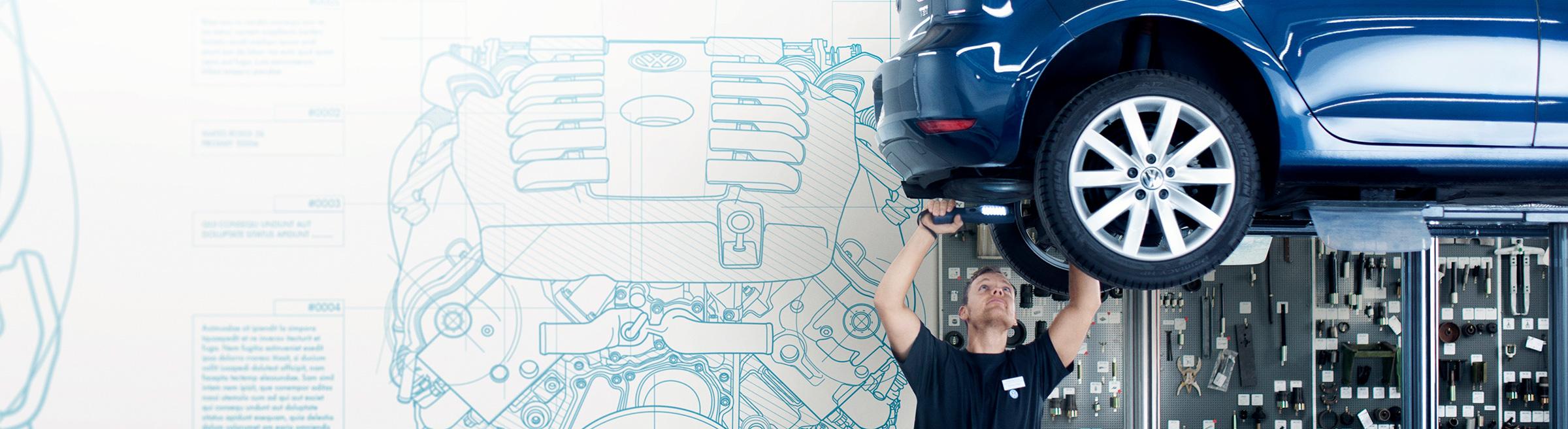 Auktoriserad service Audi, Volkswagen, SEAT & SKODA på Toveks Bil