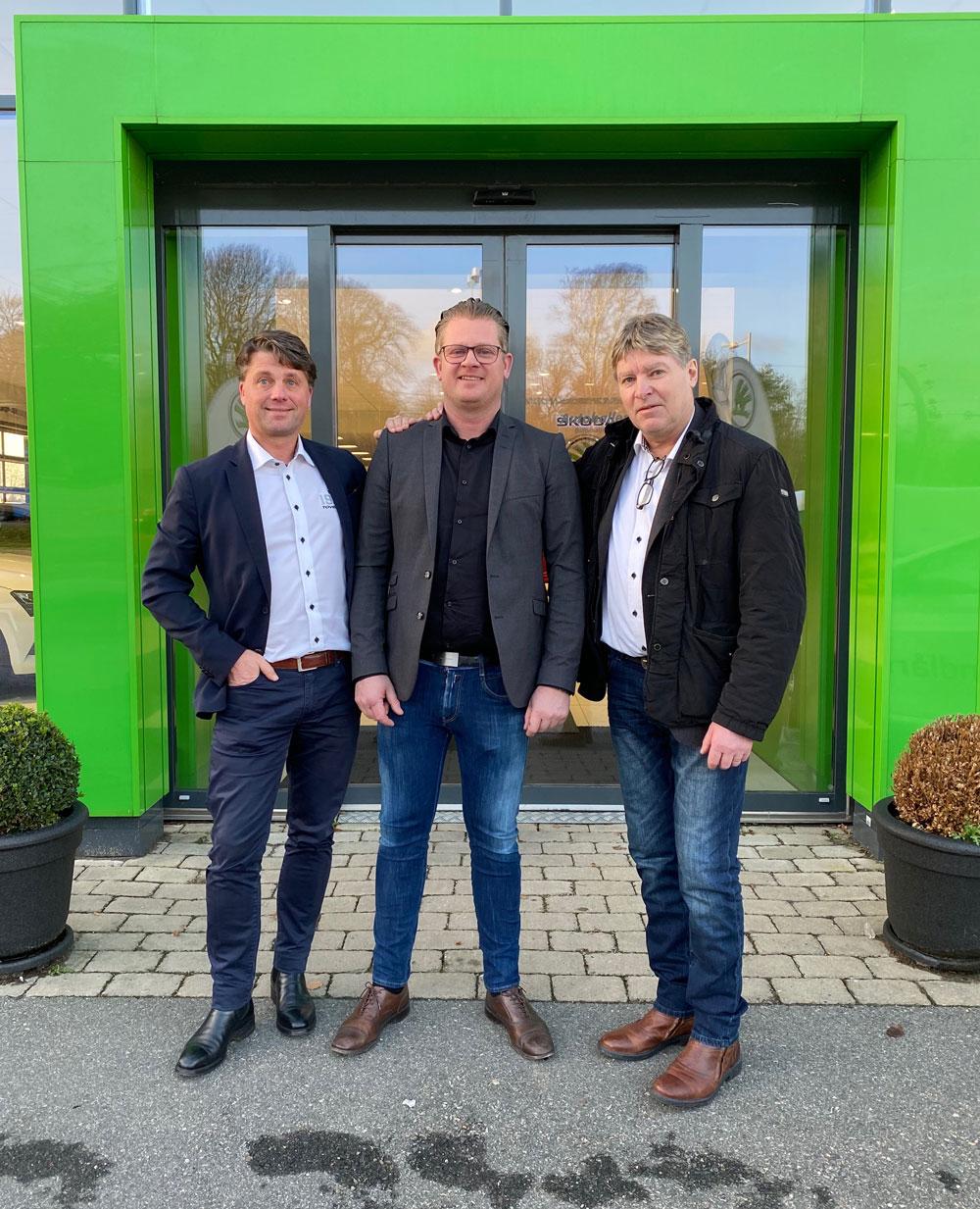 Johan Nohlgren, Daniel Olsson & Gregor Tovek